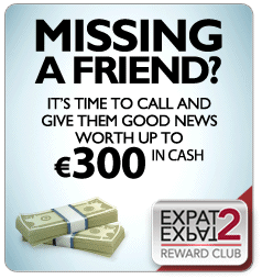 TS TIME TO CALL AND GIVE THEM GOOD NEWS WORTH UP TO €300 IN CASH