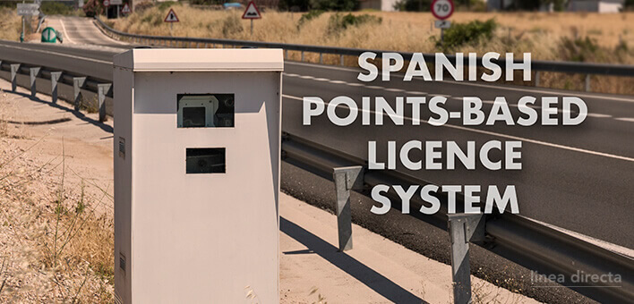 Spanish points-based licence system